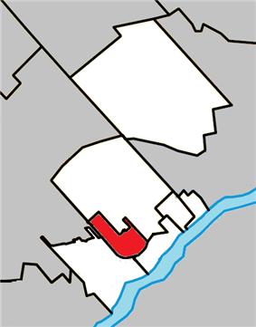 Location within Thérèse-De Blainville RCM.