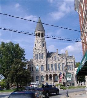 Washington County Courthouse, in the town square
