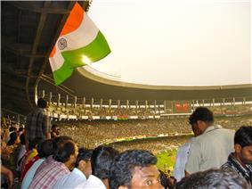 Salt Lake Stadium ( Yuba Bharati Krirangan ) Kolkata India - FC Bayern Munich Mohun Bagan Oliver Kahn 2.jpg