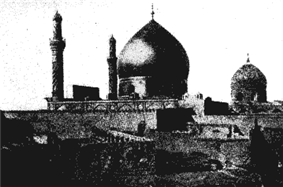 The Shrine of two Shiite Imams in Samarra.