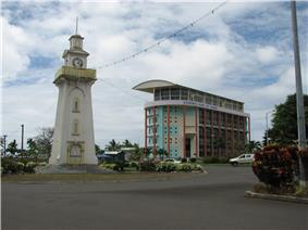 CBS headquarters in Apia, Samoa