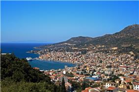 Vathy, capital of Samos