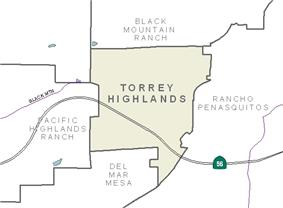 Torrey Highlands and neighborhood boundaries