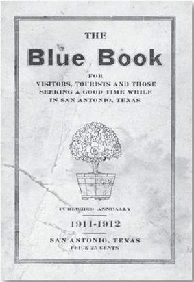The cover of a very old booklet titled