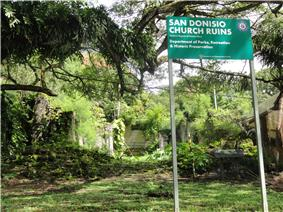 San Dionisio Church Ruins
