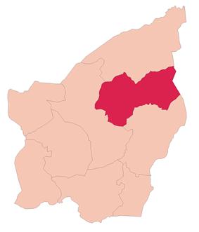 Domagnano's location in San Marino