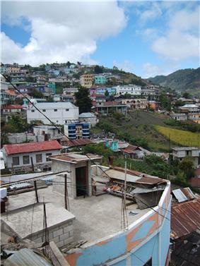 View of San Mateo Ixtatán