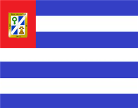 Flag of San Salvador, El Salvador
