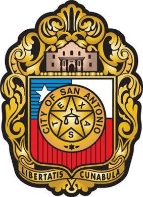 Official seal of San Antonio, Texas