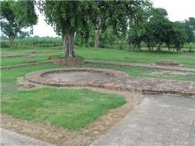 Sanghol Stupa site