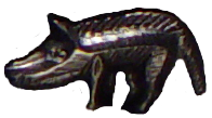 Boar from a Celtic crest