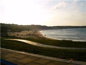 Beach in Sanzhi