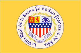 Flag of Santa Fe, New Mexico