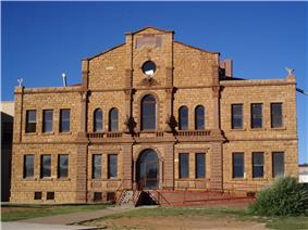 Guadalupe County Courthouse in Santa Rosa