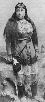 Paiute writer Sarah Winnemucca