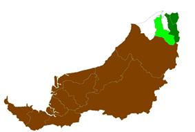Location of Limbang