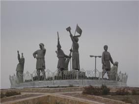Sarbedaran Statue