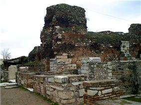 Byzantine shops at Sardis