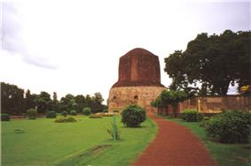 Ancient Buddhist Site in Sarnath