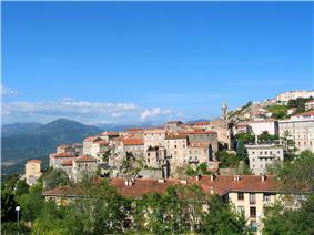 A general view of Sartène