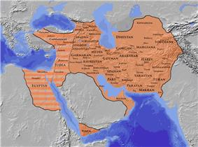 Extent of the Saanian Empire