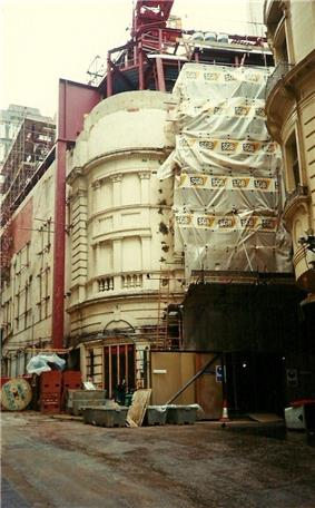Savoy theatre refurbishment.