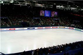 Scandinavium arena during the championship