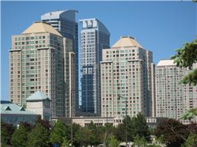 Buildings at the Scarborough City Centre
