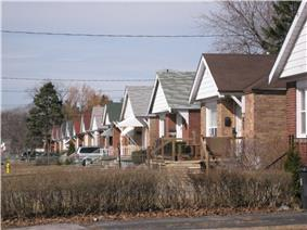 Houses in Scarborough Junction