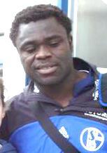Gerald Asamoah with Schalke 04