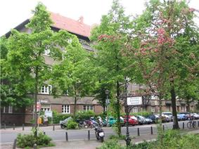 A residential area in Wilmersdorf