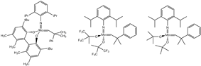 Commercially available schrock catalysts