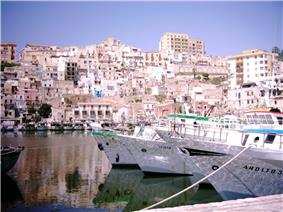 Panorama of Sciacca