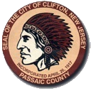 Official seal of Clifton, New Jersey
