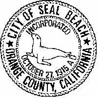Official seal of City of Seal Beach