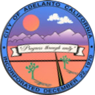 Official seal of City of Adelanto