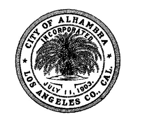Official seal of Alhambra, California