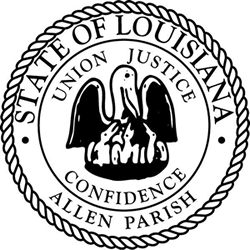 Seal of Allen Parish, Louisiana