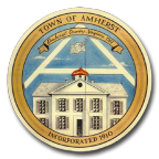 Official seal of Amherst, Virginia