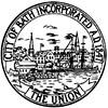 Official seal of Bath, Maine