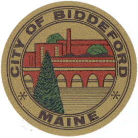 Official seal of Biddeford, Maine