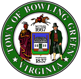 Official seal of Bowling Green, Virginia