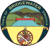 Official seal of Bridgewater, Virginia