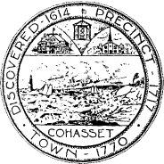 Official seal of Cohasset, Massachusetts
