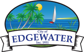 Official logo of Edgewater, Florida