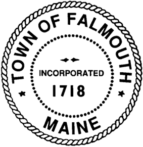 Official seal of Falmouth, Maine