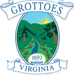 Official seal of Grottoes, Virginia