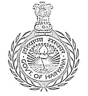 Official seal of the Government of Haryana