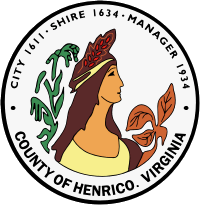 Seal of Henrico County, Virginia
