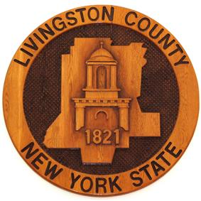 Seal of Livingston County, New York